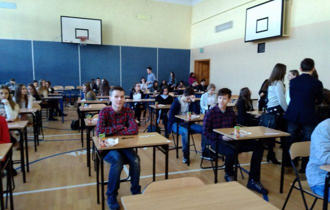 Uczniowie trzeciej klasy gimnazjum walczyli w ZSTiO