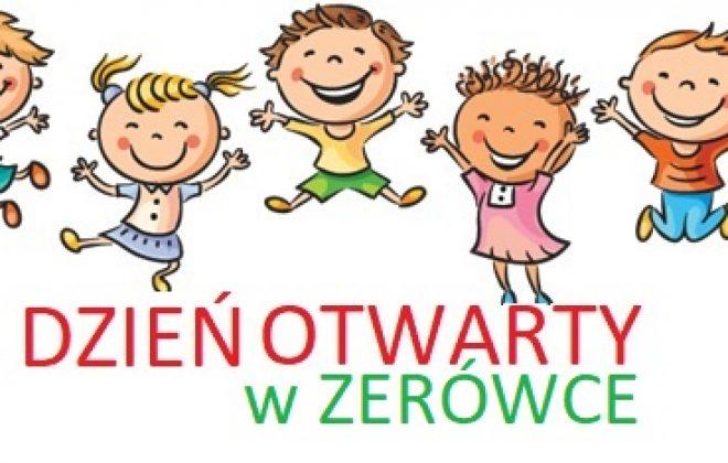 DZIEŃ OTWARTY dla dzieci z oddziału przedszkolnego