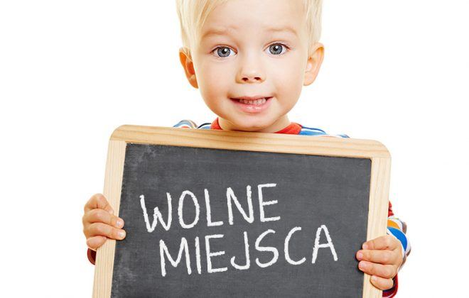 Wolne miejsca w przedszkolu