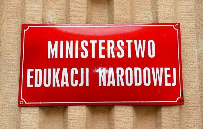 List od pani minister Anny Zalewskiej