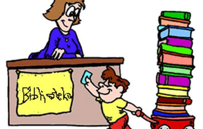 Zwrot podręczników do biblioteki