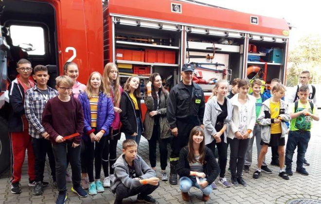 Z wizytą w Komendzie Powiatowej Straży Pożarnej
