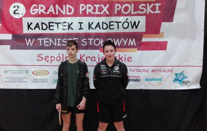 Nasi zawodnicy na II Grand Prix Kadetów
