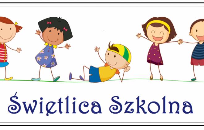 Organizacja pracy świetlicy szkolnejod 1 września 2020 r.