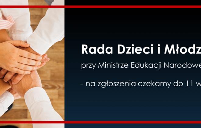 Nabór Rady Dzieci i Młodzieży Rzeczpospolitej Polskiej