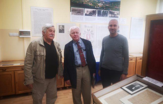 Profesor Andrzej Kulig z wizytą w Izbie Pamięci