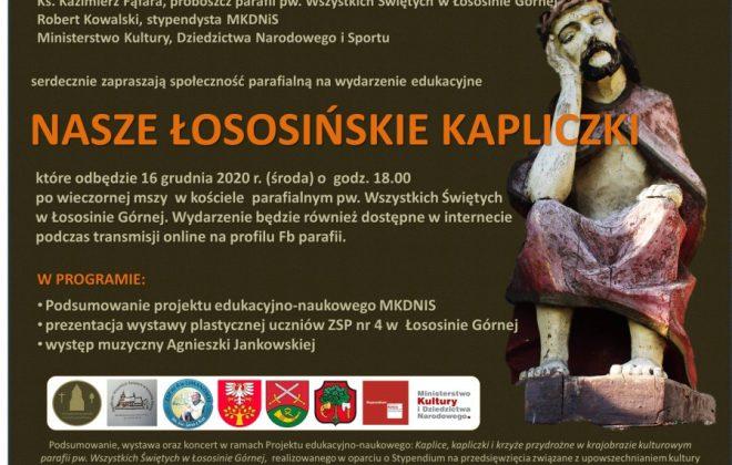Wystawa prac plastycznych – Nasze Łososińskie Kapliczki