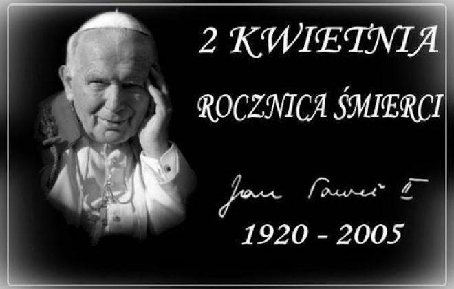 16. rocznica śmierci papieża św. Jana Pawła II