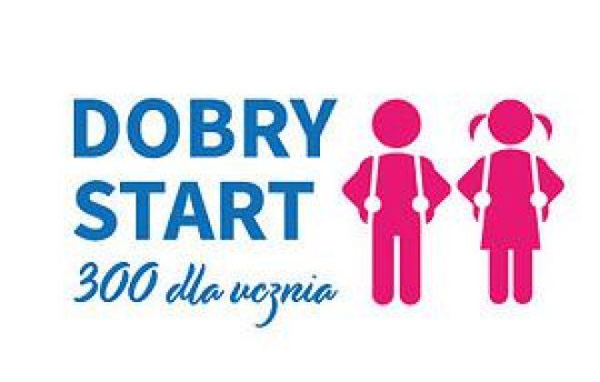 """Ważna informacja """"Dobry Start 300+"""""""