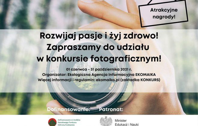 """Konkurs fotograficzny """"Żyjmy zdrowo"""""""